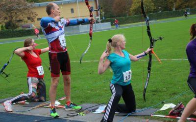 Run-Archery onderscheidende handboog discipline