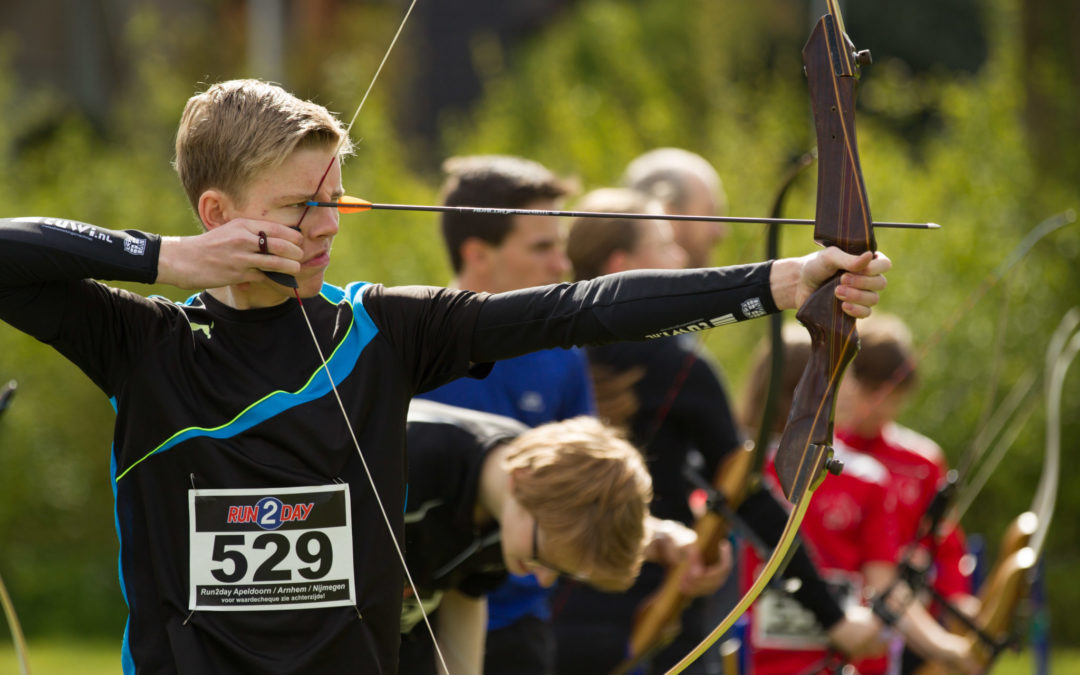 Finale Dutch Run-Archery CUP 28 oktober Wageningen