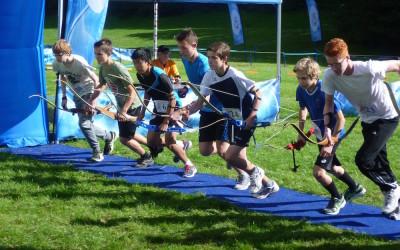 NK Run-Archery sprint Wageningen