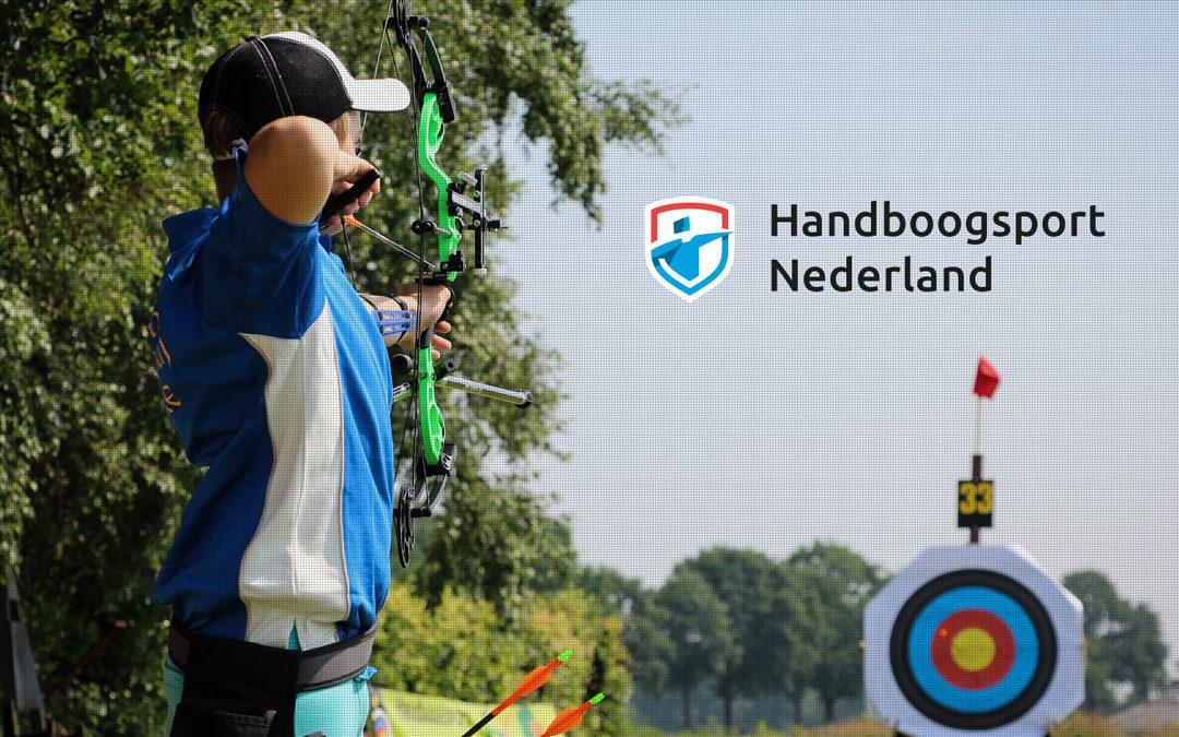 Nieuwe uitstraling voor Handboogsport Nederland