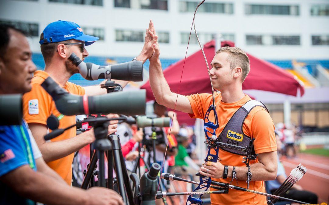 Wijler en Van den Berg bereiken finales in Shanghai