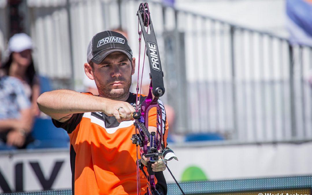 Peter Elzinga grijpt naast Brons tijdens World Games