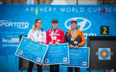 Sanne de Laat wint wereldbeker Brons in Berlijn