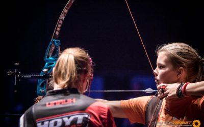 16-jarige Laura van der Winkel verrast tijdens Kings of Archery