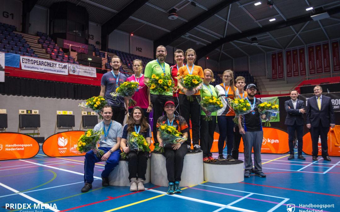 Nederlandse Indoor kampioenen gekroond
