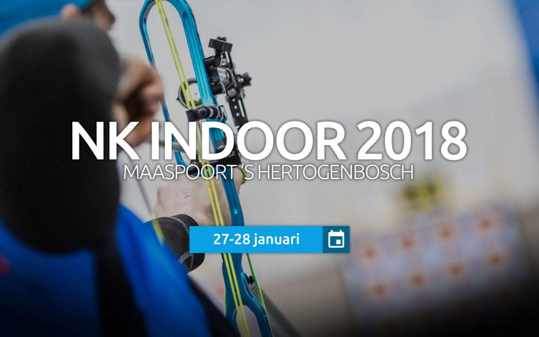 27/28 jan: Nationaal Indoor Kampioenschap 2018