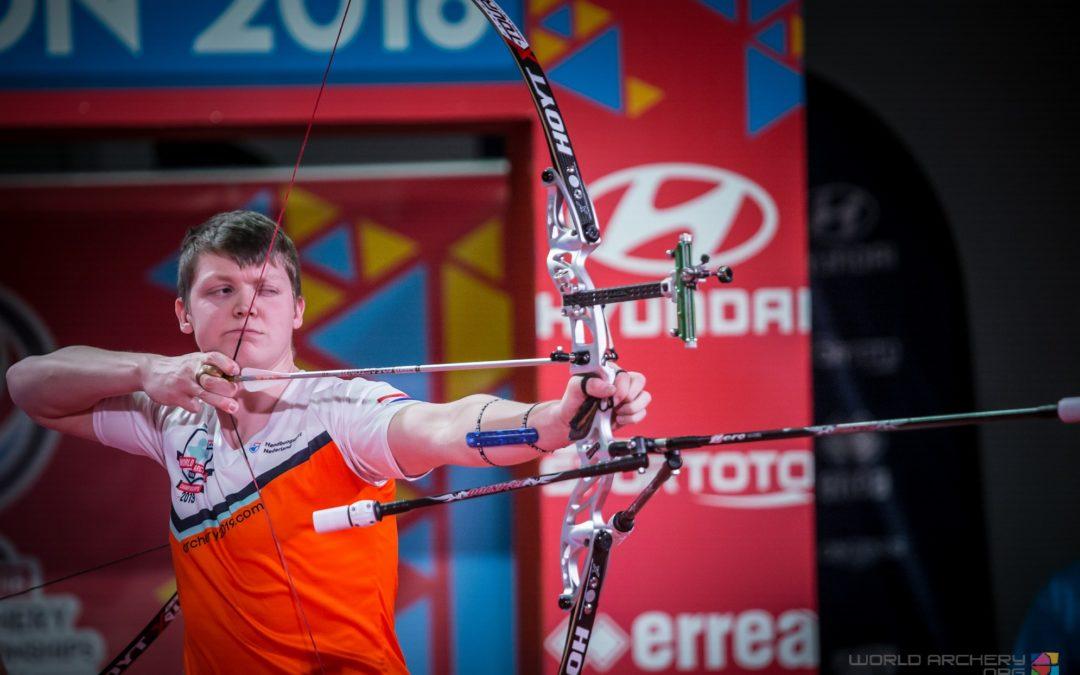 Van den Berg tweevoudig wereldkampioen
