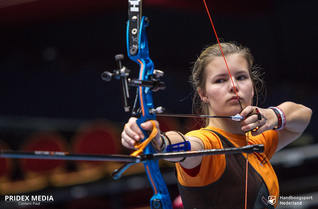 Laura van der Winkel voorgedragen voor jeugdspelen