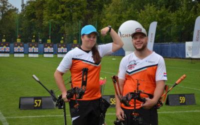 Wijler en Compound mixed team op voor goud