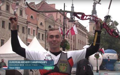 Steve Wijler pakt Europese titel, duo Schloesser en Vermeulen pakken zilver