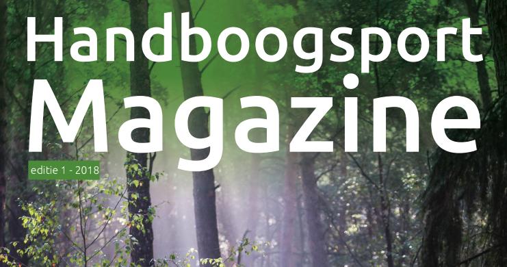 Handboog magazine editie 1 – 2018 is uit!