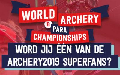 Word jij Archery2019 Superfan?