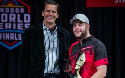 Mike Schloesser verkozen tot 2018 World Archery Compound sporter van het Jaar