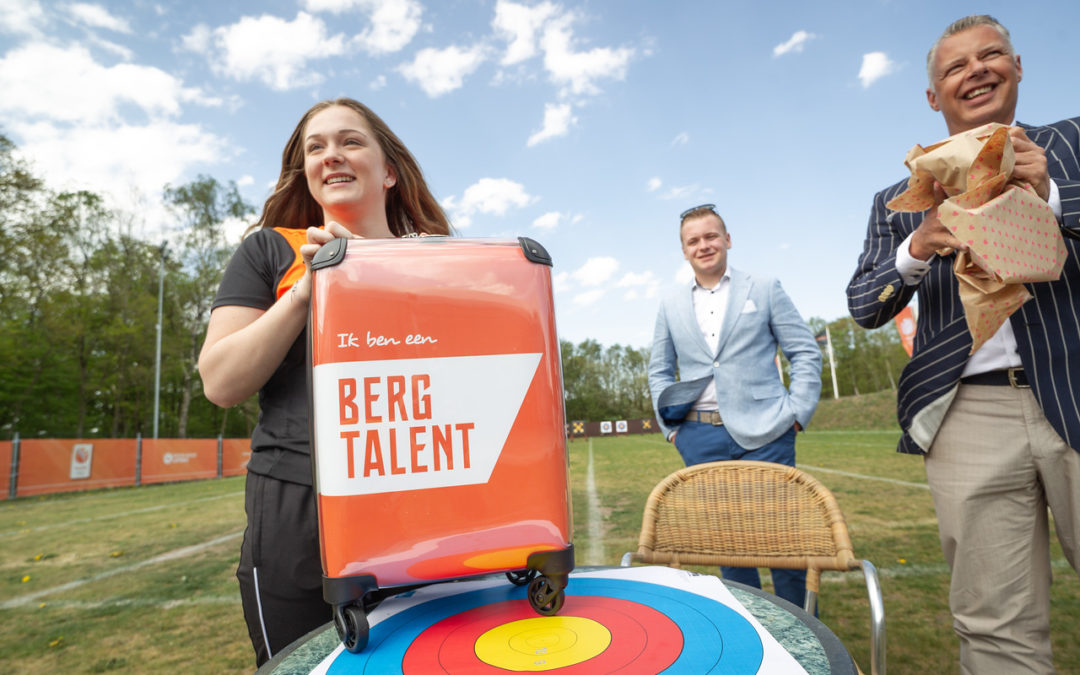 Stichting Berg Talent steunt topper Kyra Donners