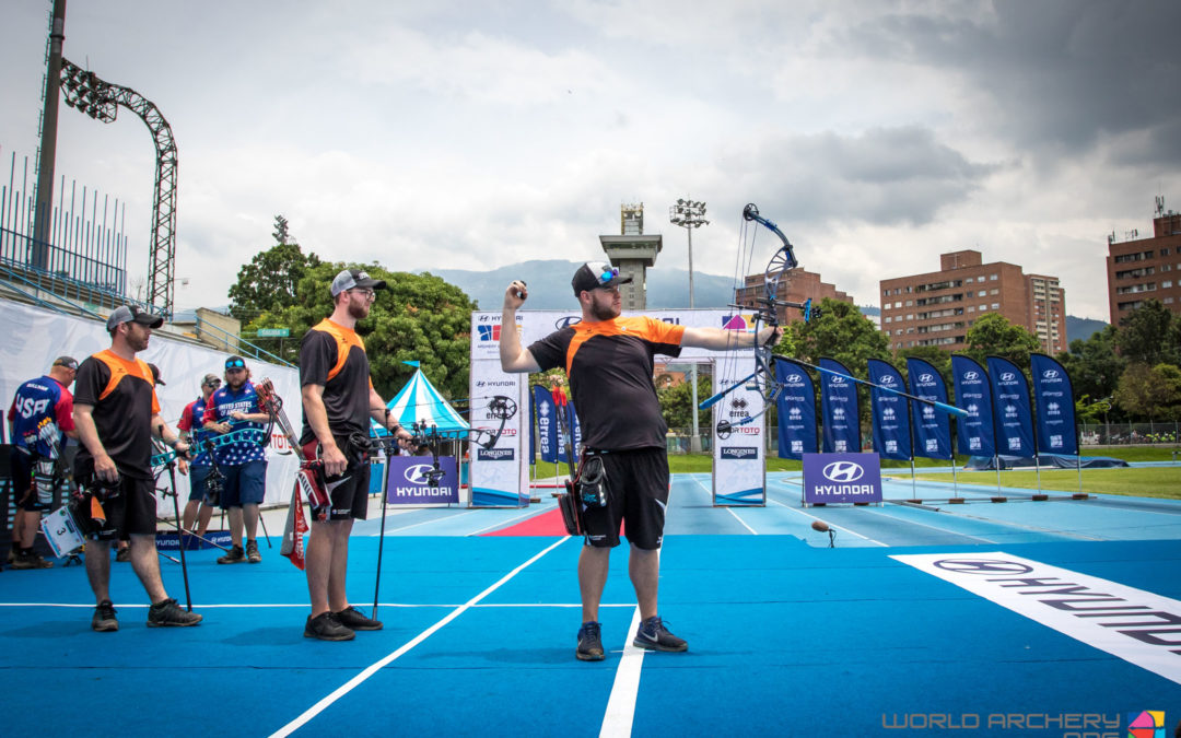 TeamNL compound pakken Wereldbeker brons in Medellin