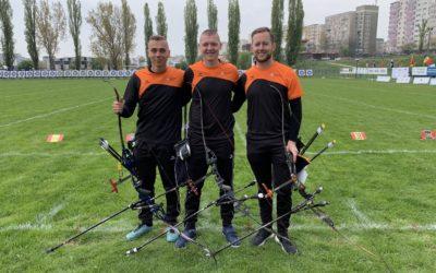 Europees record voor TeamNL recurve heren