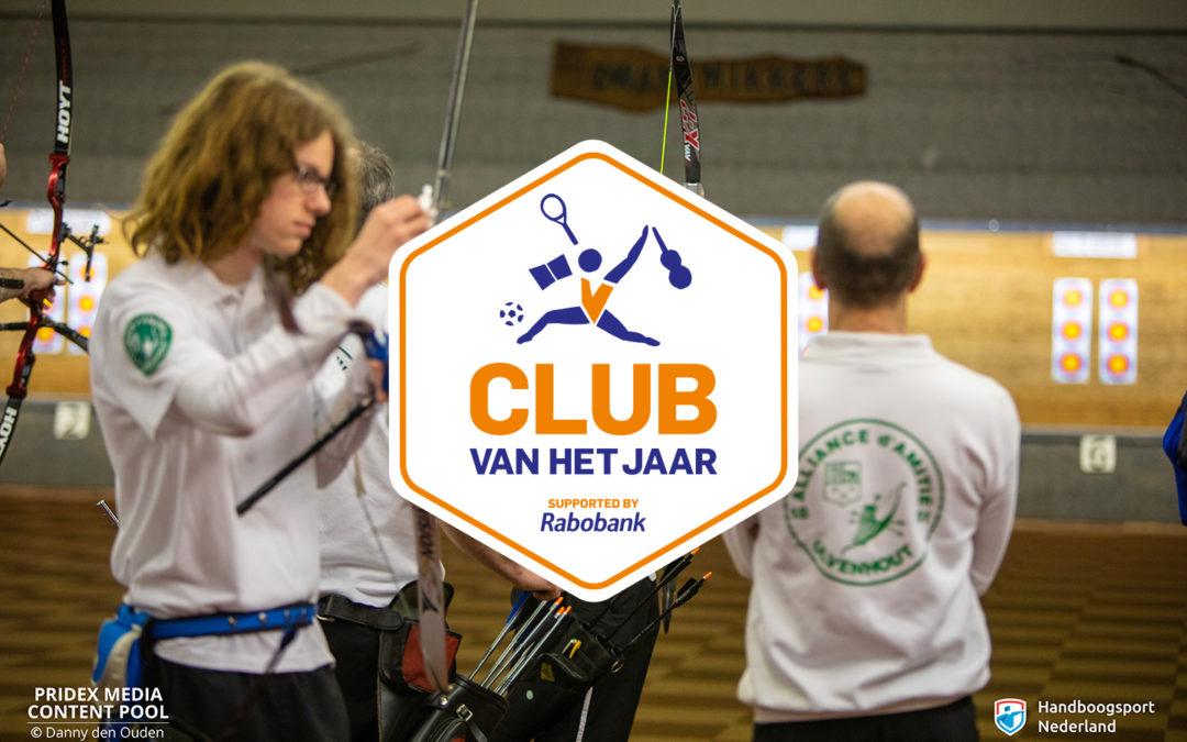 Verkiezing 'Club van het Jaar 2019'