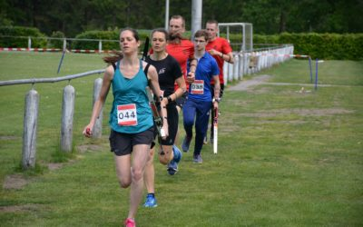 1e sprint Run-Archery in Apeldoorn 25 mei 2019