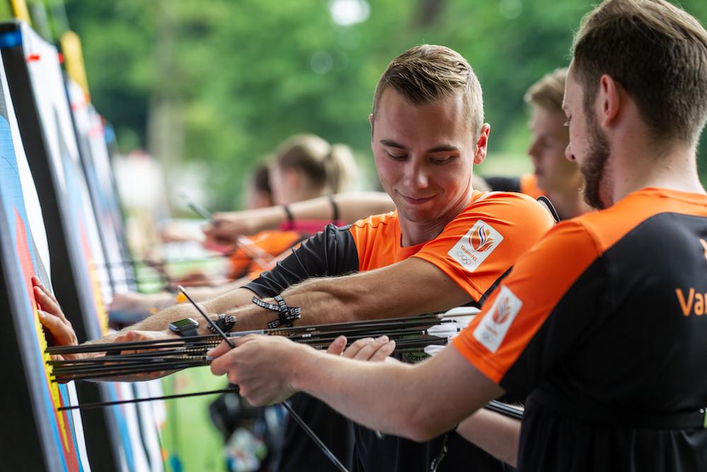 TeamNL klaar voor WK handboogschieten 's-Hertogenbosch