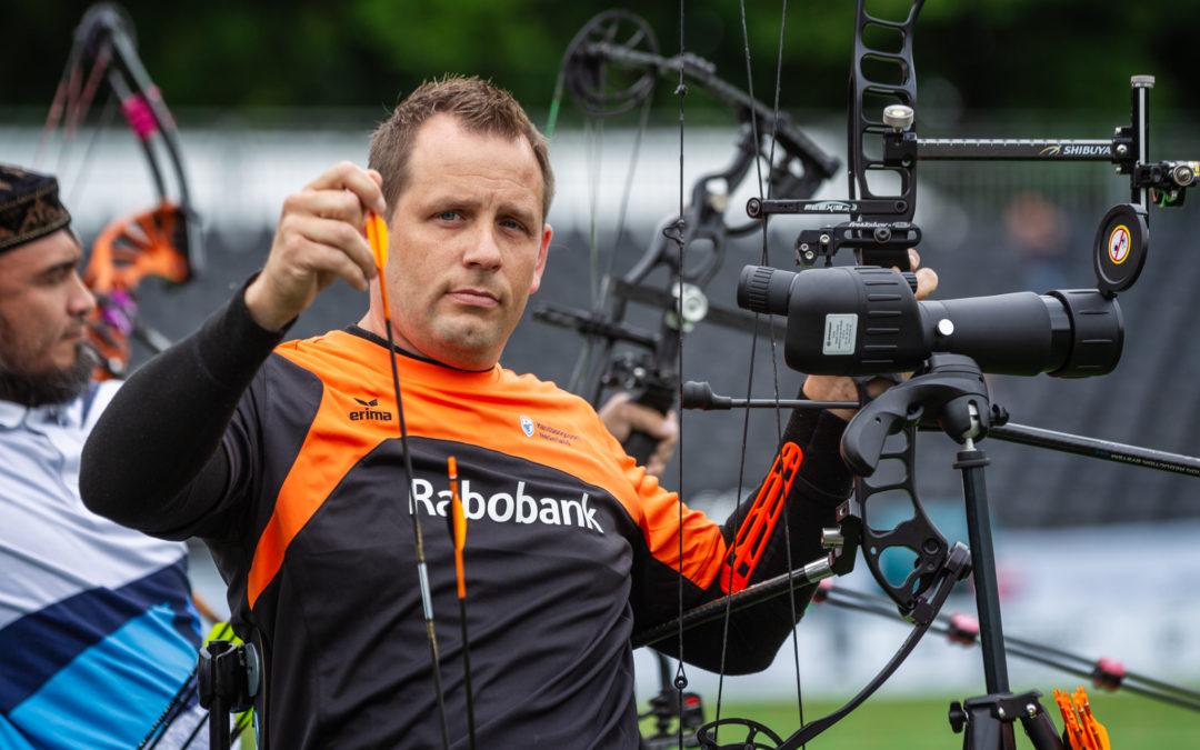 Roy Klaassen strandt in eliminatiefase WK Para