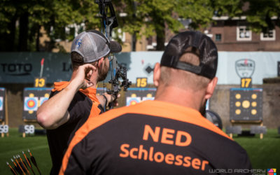 Compound herenteam naar bronzen WK finale