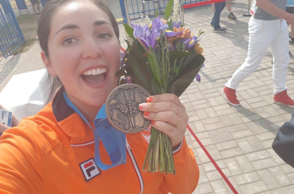Gaby Bayardo wint individueel Brons Europese Spelen