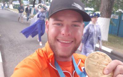 Schloesser schrijft tweede Europese Spelen op zijn naam