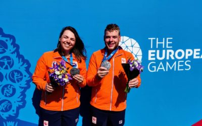 TeamNL compound mixed team grijpt zilver tijdens Europese Spelen
