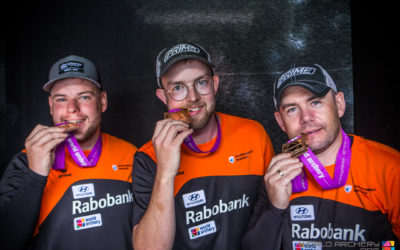 TeamNL compound grijpt Brons in landenstrijd