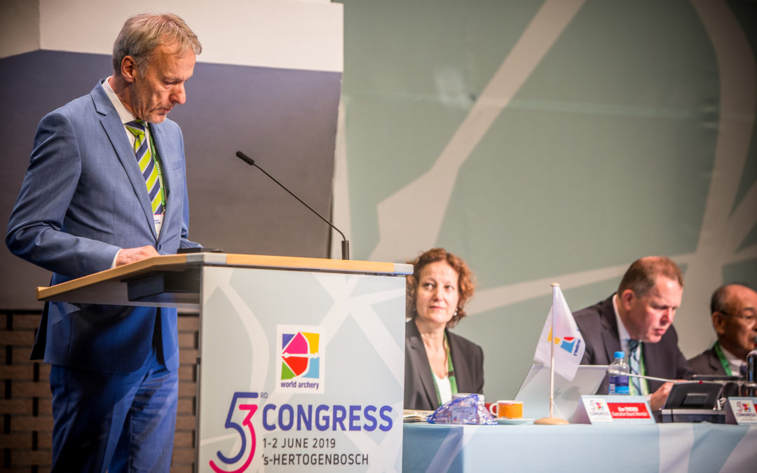 Congres World Archery geopend