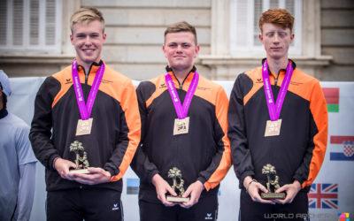 Junioren recurve pakken brons tijdens WK junioren