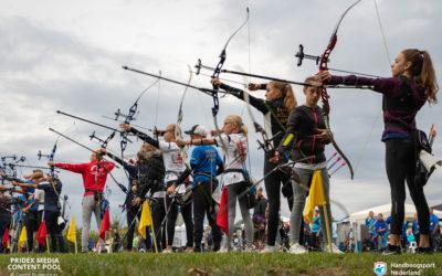 Jeugd strijdt om nationale titels Handboogschieten in Berkel-Enschot