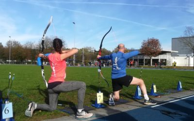 Aurora Oirschot succesvol tijdens NK Run-Archery sprint