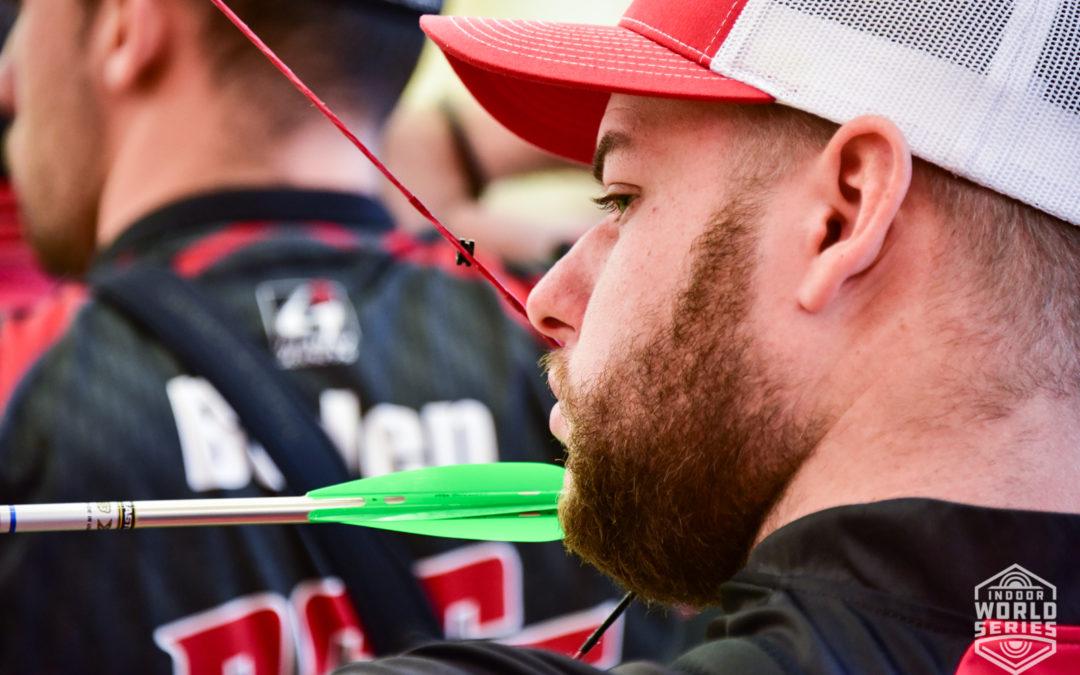 Mike Schloesser wint Indoor Archery World Series Luxemburg