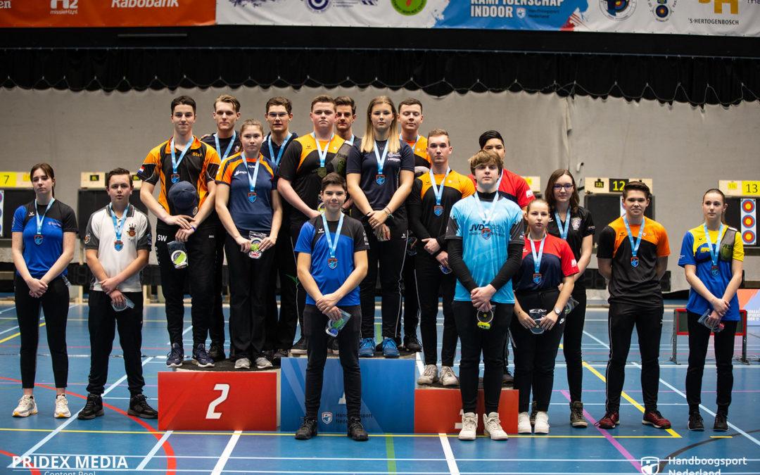 Prijzen NK Indoor Jeugd 2020 verdeeld in 's-Hertogenbosch