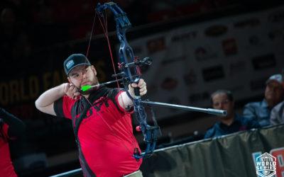 Mike Schloesser wint Indoor World Series finale 2020