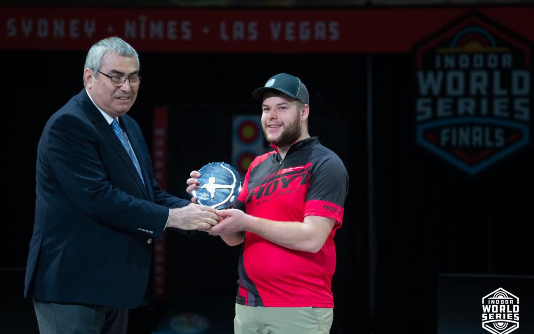 Mike Schloesser voor derde maal benoemd tot wereld compound sporter van het jaar