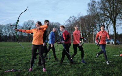 Run-Archery in Runners magazine