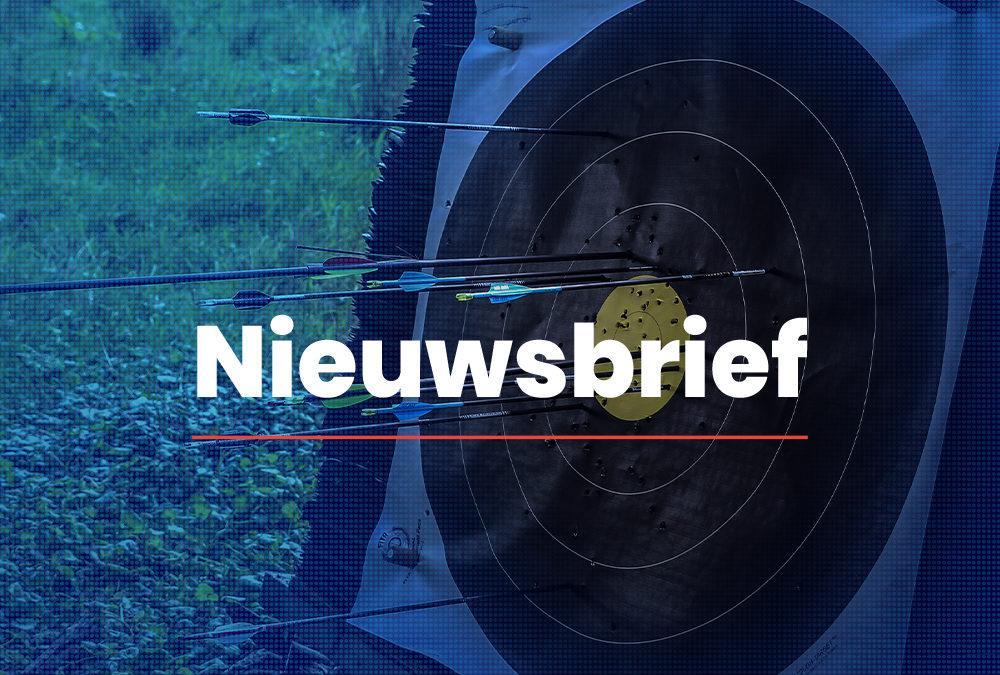 Nieuwsbrief Handboogsport Nederland 07-04-2021