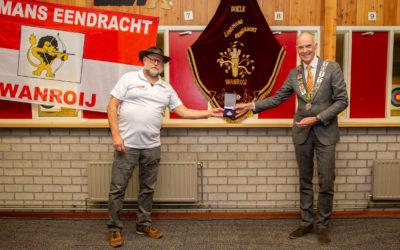 Jubilerend Landmans Eendracht Wanroij krijgt Koninklijke Erepenning