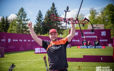 World Cup Lausanne: Mike Schloesser pakt drie medailles
