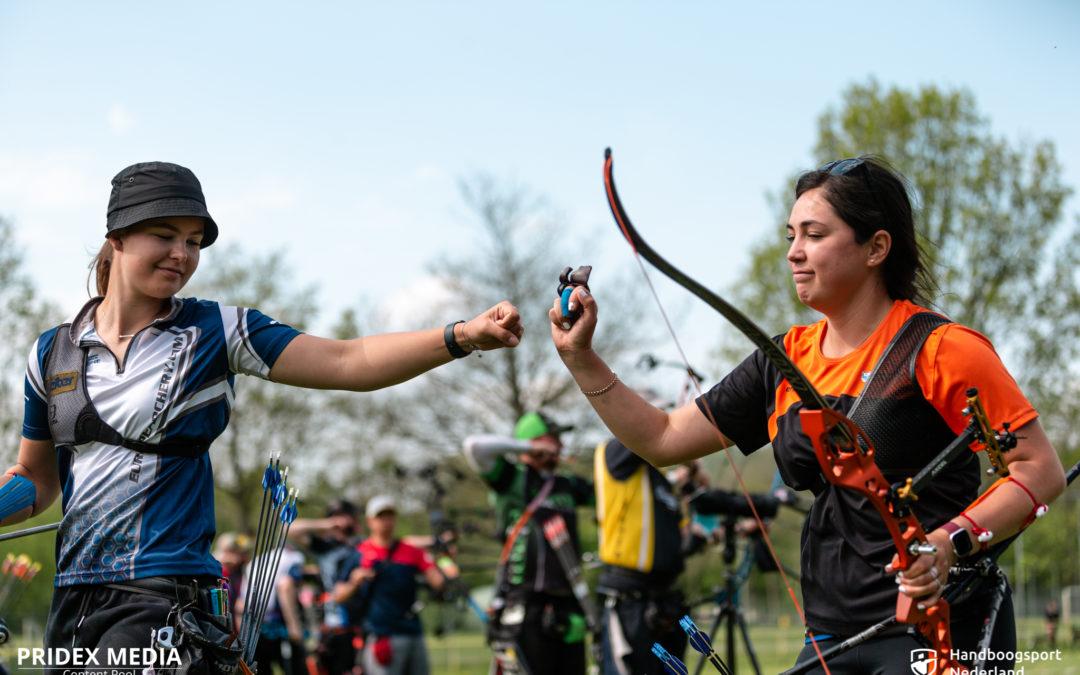 Lowlands Archery Series Stage 1 – Record Laura van der Winkel