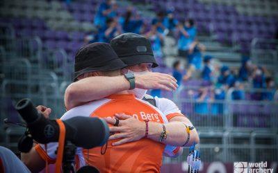 OS: Gijs Broeksma en Sjef van den Berg uitgeschakeld