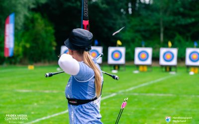 Lowlands archery target stage 4 – Record na record