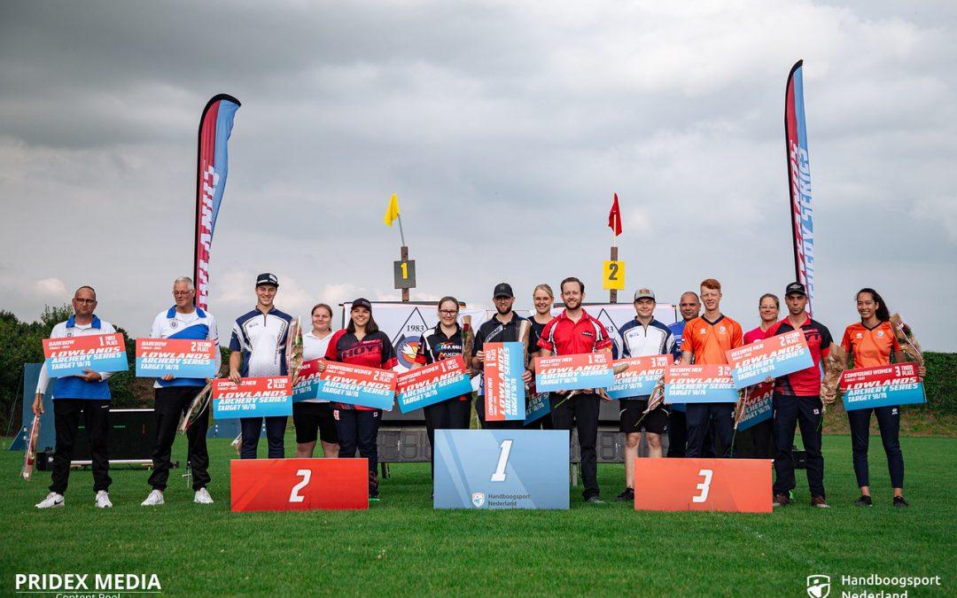 Mooie kampioenen bij Lowlands Target 50/70 finale